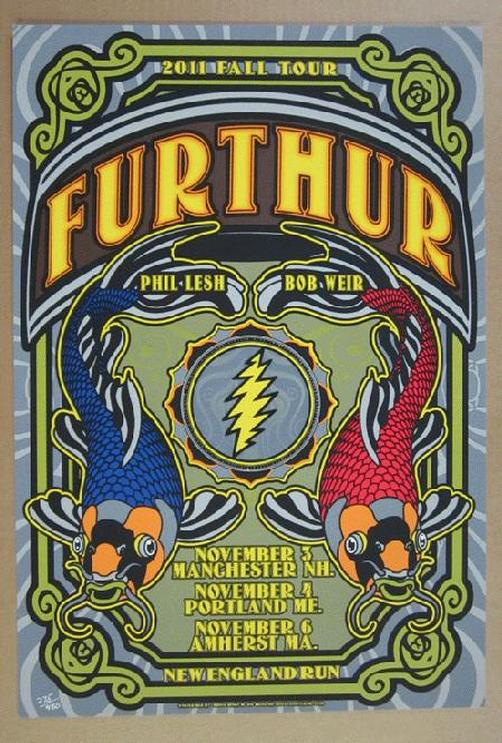 Grateful Dead Tour Poster High Quality