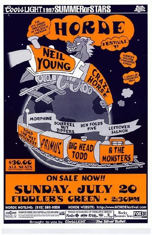 Primus Tour Schedule  Poster