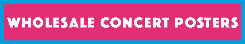 wholesale concert posters